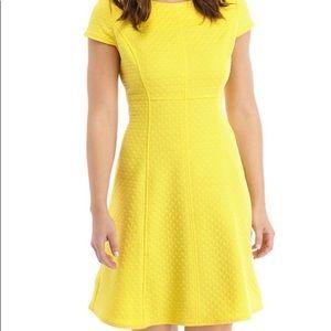 *NWT* Kasper Yellow dress
